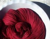 The Tell-Tale Heart -- Posh Socks -- Hand Painted Cashmere/Merino/Nylon Sock Yarn