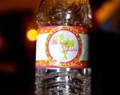 Private Listing for idogeminichic Water Bottle Labels - Beach Birthday -  Weatherproof Polyester Laser - 50 Custom Printed
