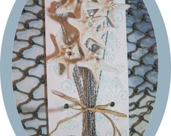 A Dozen Starfish and Pearls Beach Wedding Centerpieces on Etsy