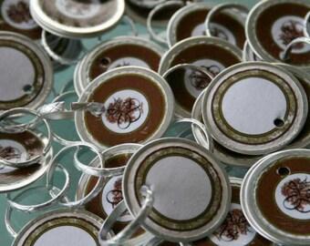 50 Oak Tree Wedding Wine Glass Charms for Weddings - Showers - Parties