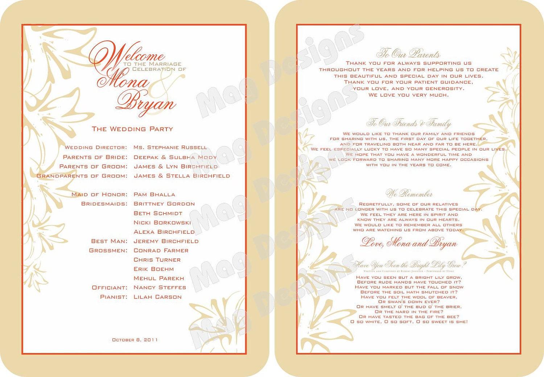 Program Wedding Cake Ideas And Designs