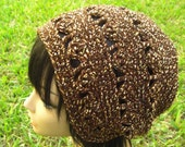 Vintage Style Crocheted Cloche - Adult Large