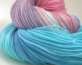 Brunhilda - Ponyo Tribute Series - Hand Dyed Vegan Sock Yarn - 447 yds