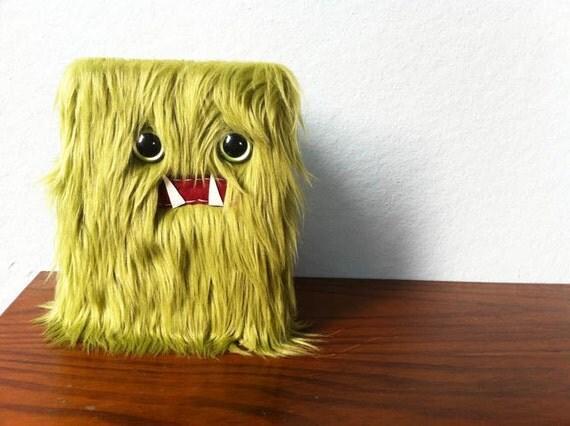 Olive Monster Journal- Green Eyes