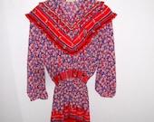 70s boho dress