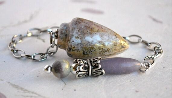 Pendulum - Firoza and Ocean Jasper Pendulum