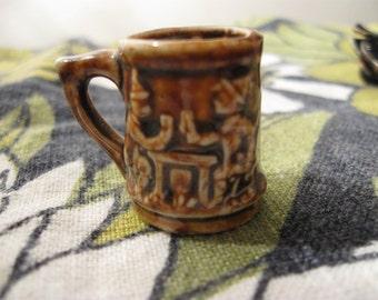 antique  minature  mug