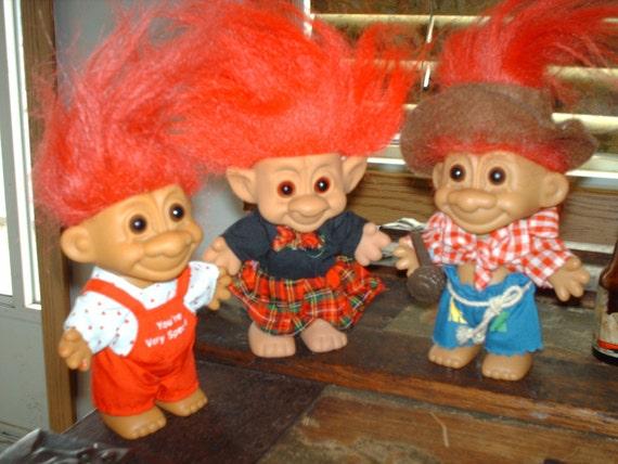 3 Russ Troll Dolls On Sale