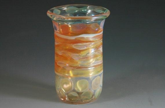 Shot Glass - Vase Handblown Lampwork Boro Glass