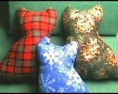 Scrappy Cats Cat Toys -  Set of 3 - Free shipping in USA through New Years