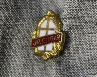 Vintage Junior Choir Pin