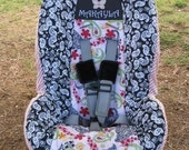 Custom Listing for Convertible Car Seat Cover - Britax Roundabout or Marathon - Your Choice of Fabric