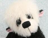 Artist Teddy bear  pattern 9inch  HUAN a Panda by Pipkins Bears , PDF file