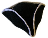 Pirate Hat (5 Sizes) - PDF Crochet Pattern - Instant Download