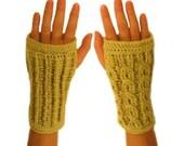 Reversible Wrist Warmers - PDF Crochet Pattern - Instant Download