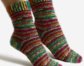 Easy Adjustable Socks - PDF Crochet Pattern - Instant Download