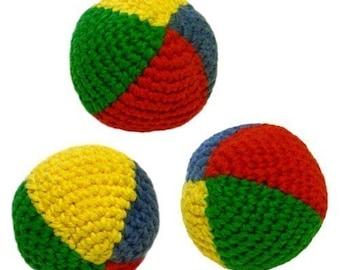 Juggling Balls - PDF Crochet Pattern - Instant Download