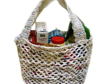 Plarn Market Bag - PDF Crochet Pattern - Instant Download