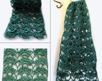 Spring's Here Lace Scarf - PDF Crochet Pattern - Instant Download
