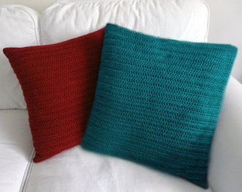 Classic Pillow Cover - PDF Crochet Pattern - Instant Download