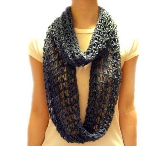 Lover S Knot Loop Scarf Pdf Crochet By Crochetspotpatterns