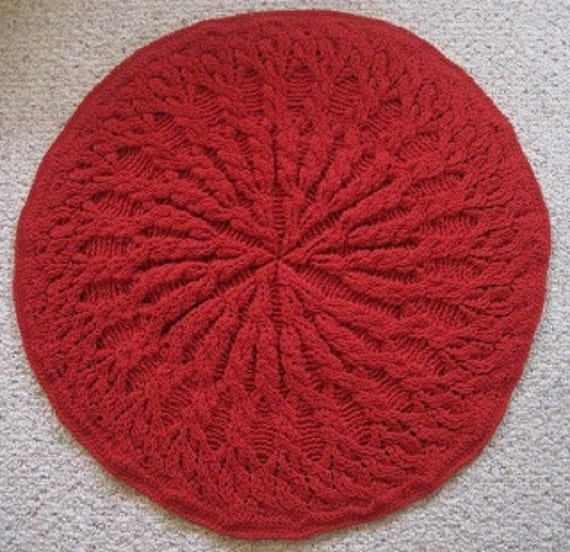 Crochet Patterns Round : Round Heirloom Blanket PDF Crochet Pattern Instant
