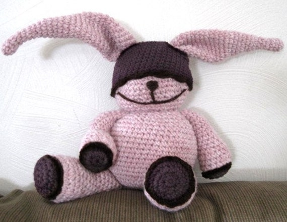Chubby Bunny - PDF Crochet Pattern - Instant Download