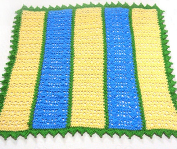 Hugs And Kisses Baby Blanket Pdf Crochet Pattern Instant
