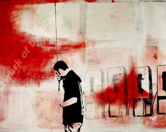 Calling - Acrylic Painting - Original Artwork