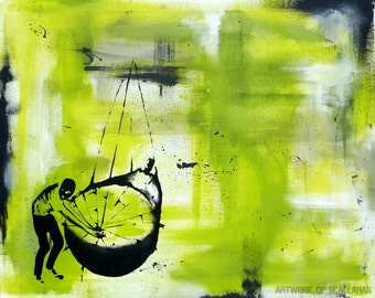 Losing Ground // Fine Art Print // FREE SHIPPING