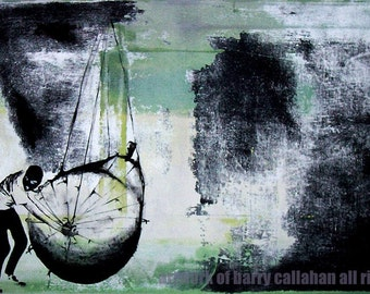 The Great Pear Theft - Fine Art Print - FREE SHIPPING