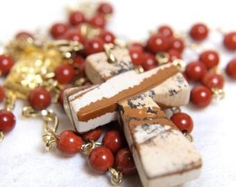 Red Jasper Rosary