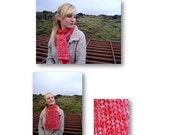 Lush lava - shawl / scarf - knitting pattern