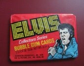 ELVIS Bubble Gum Trading Cards Pack 1978 - New Vintage Unopened - WOW -