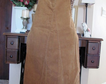 Apron Stylish Ladies Reversible Denim Full Apron Made From Recycled Clothing