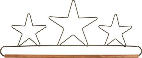 "16"" Triple Star Wire Quilt DIsplay Hanger"