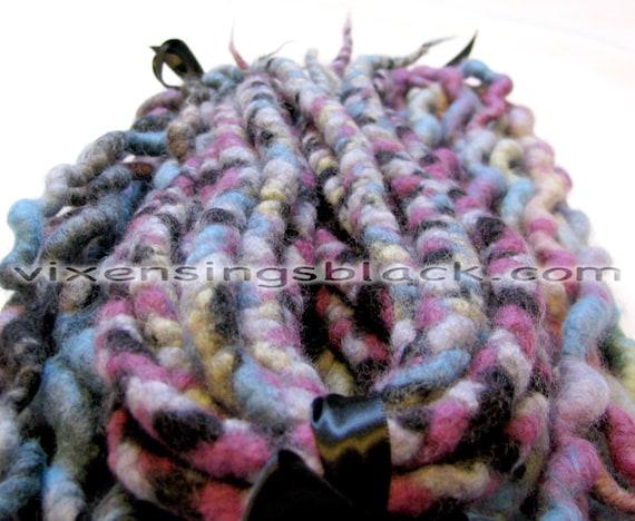 Early 90s Gamer Wool Dreadlocks Dreads 35 DE Double Enders Texture Dread Kit