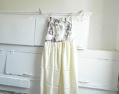 Sweetest Abby floral corset silk dress-size small medium