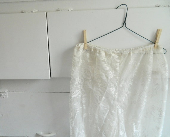 Handmade bloomers white soft vintage lace romantic country shabby chic folk small/medium