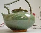 dragon green teapot