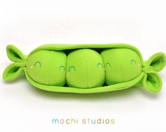 Three Peas in a Pod Plush