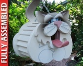 Cat Birdhouse Ragdoll Fully-Assembled