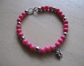 Pink Squirrel Bracelet