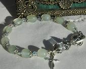Rosary bracelet - New Jade