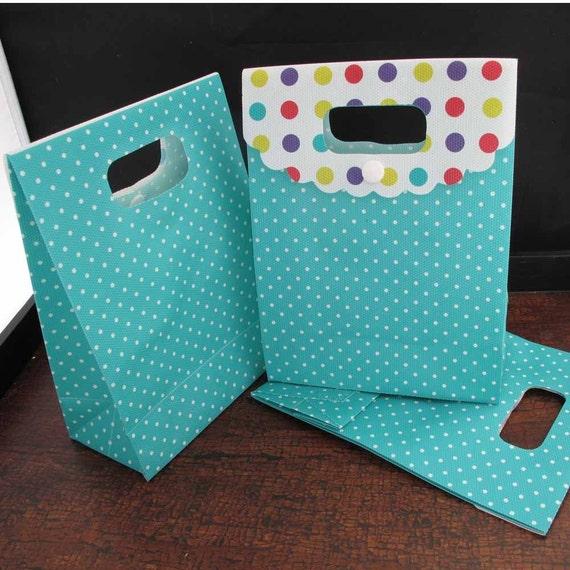 Polka Dot Box-Bags Set of 15 -last one