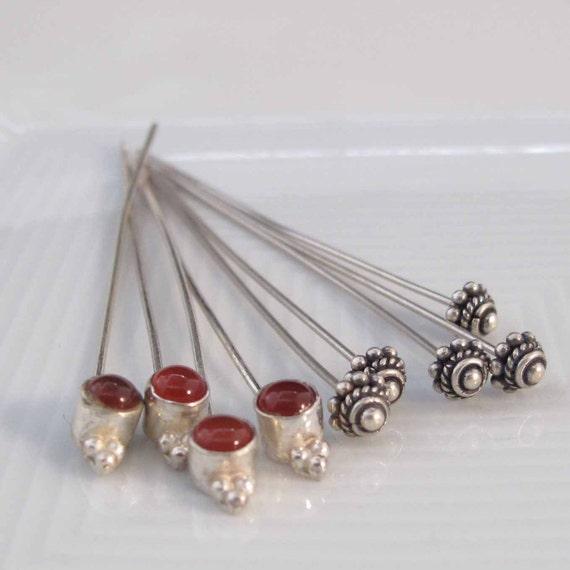 Sterling Silver Headpins