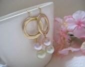 Circle of life - Bridal style earrings