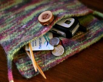 KNITTING PATTERN: Felted Tote Bag - Trunk Hugger