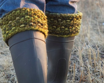 PDF ebook - Knitting Patterns  - Knit Cowl, Pixie Pom Pom Hat, Fingerless Mittens, Boot Cuffs, Pillow, Door Snake, Ascot Scarf