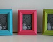 mini frames - set of 3
